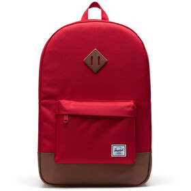 Herschel Heritage Rugzak, red/saddle brown